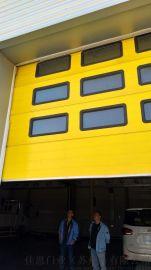 工业提升门铝合金彩钢板材质