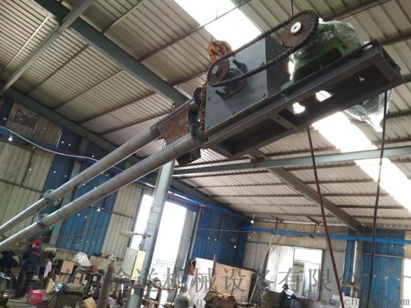 興運管鏈輸送機廠家新品 傾斜管鏈輸送機