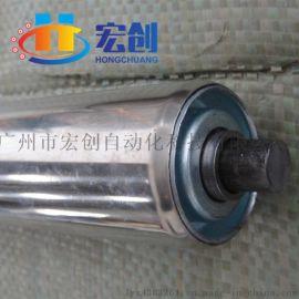 厂家直供不锈钢滚筒|直径50mm无动力滚筒