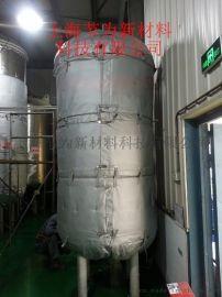 隔热吸音反应釜可拆卸式保温套