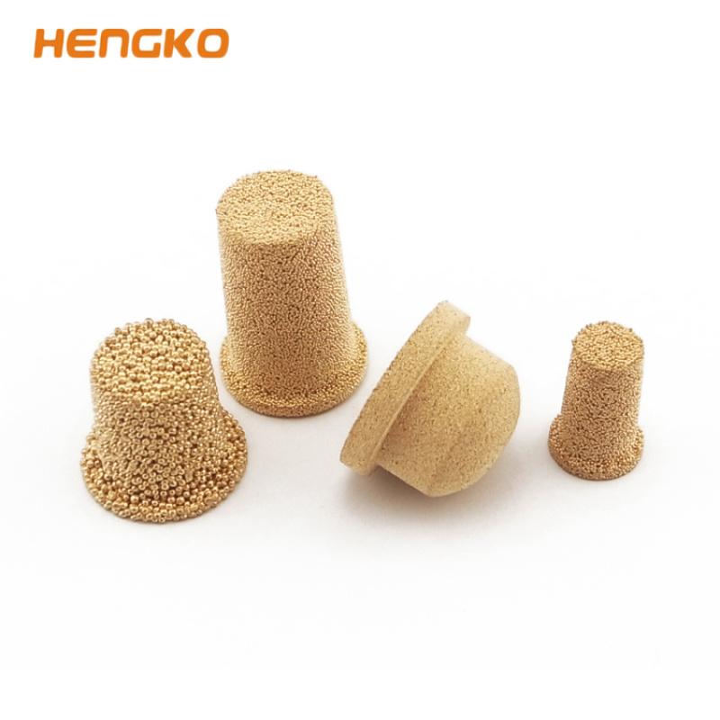 恒歌产品 导电导热 透气均匀烧结铜滤芯