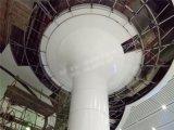 廠家現在測量定製室內外圓柱包柱鋁單板 雙曲鋁單板