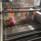 喷淋清洗机 水果蔬菜清洗机 不锈钢全自动清洗设备