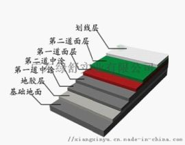 广东龙翔体育丙烯酸球场材料