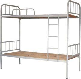 上下鋪鐵牀雙層成人員工牀學生宿舍架子單人牀工地簡易