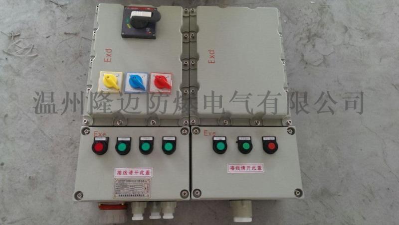 低壓配電防爆照明控制箱