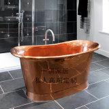 进口纯铜浴缸手工制作