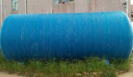 一体式玻璃钢模压储水罐 工作原理 化粪池