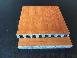 陶铝玻镁冲孔吸音板 A级防火防潮 碳纤维微孔吸音板