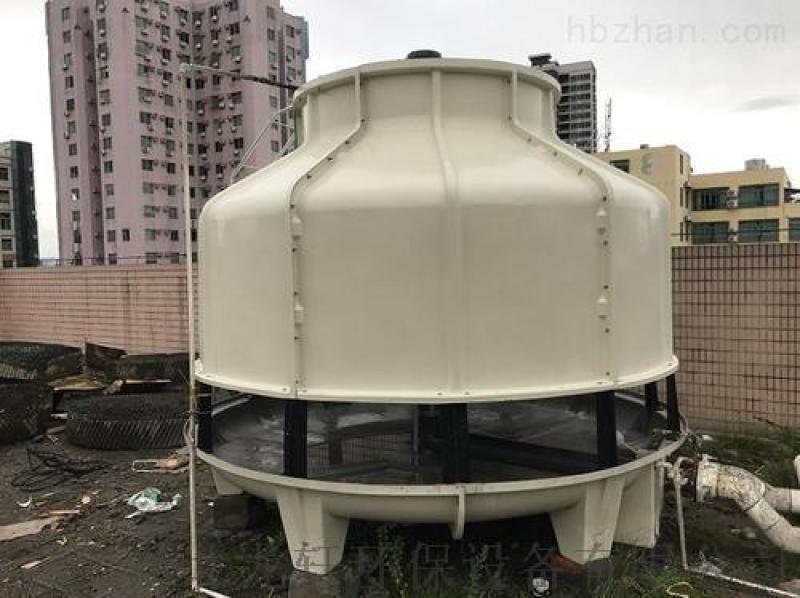 圆形玻璃钢冷却塔 玻璃钢降温塔 工业节能冷水塔