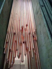防雷接地工程 铜包钢接地棒 长效物理接地材料