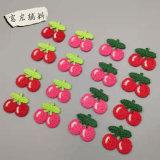 廠家直銷機器仿手鉤花滌綸手鉤花水果形狀4色可選