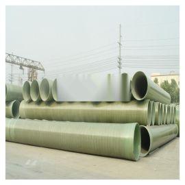 风管玻璃钢夹砂400管道安装