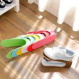 固定式双层收纳鞋架 义乌悦居一代收纳鞋架