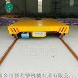 喷砂涂装生产线 旋转镂空台面轨道平移平板车