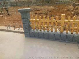 济南差拼式水泥仿木栏杆 集组式积木仿木等水泥制品