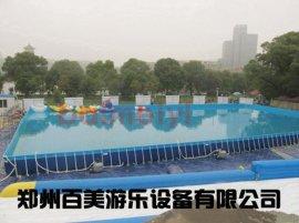 大型支架水池价格,户外儿童支架游泳池生产厂家