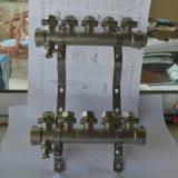 批发优质一寸二大体地暖分集水器、东营批发商