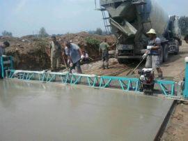 桥面框架整平机 混凝土路面整平机 振动梁摊铺机