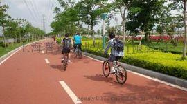 誉臻彩色透水混凝土 改善城市生态环境