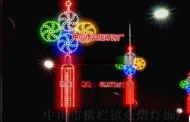 富强中国结灯   LED中国梦 路灯杆装饰灯