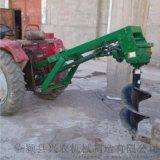 植樹鑽孔挖坑機   臨潁興農挖樹坑機
