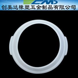 中山小号汤盅圆形硅胶制品结构简单 清远胶圈安装方便