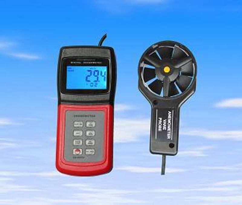 可測風速,風量,風級,溫度,浪高的風速風量儀