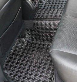 新款绣花皮革大包围汽车脚垫