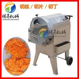 商用球根茎切菜机 莴笋萝卜切片切丝土豆切块机