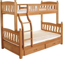 实木儿童床(BJ-sxp)