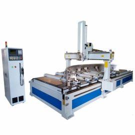 明美MM-1550-CNC铝型材数控加工中心 工业铝型材数控加工中心 旋转门型材数控加工设备 工业铝数控加工中心