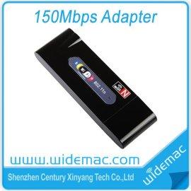 厂家直供WD-1502N 150M迷你无线usb网卡支持高清电视