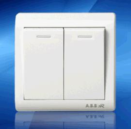 鸿润HR6C-021墙壁开关(二开跷板)