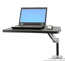 爱格升WorkFit-P 坐站两用工作站笔记本电脑支架24-383-026
