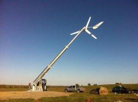 10kW風光互補發電系統