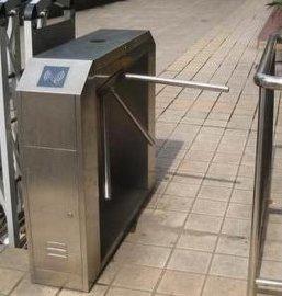 南京刷卡进出三辊闸,门禁考勤闸机安装