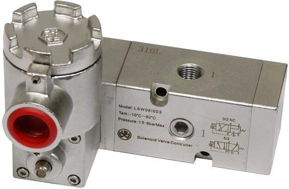 管板通用不锈钢隔爆电磁阀 防爆电磁阀