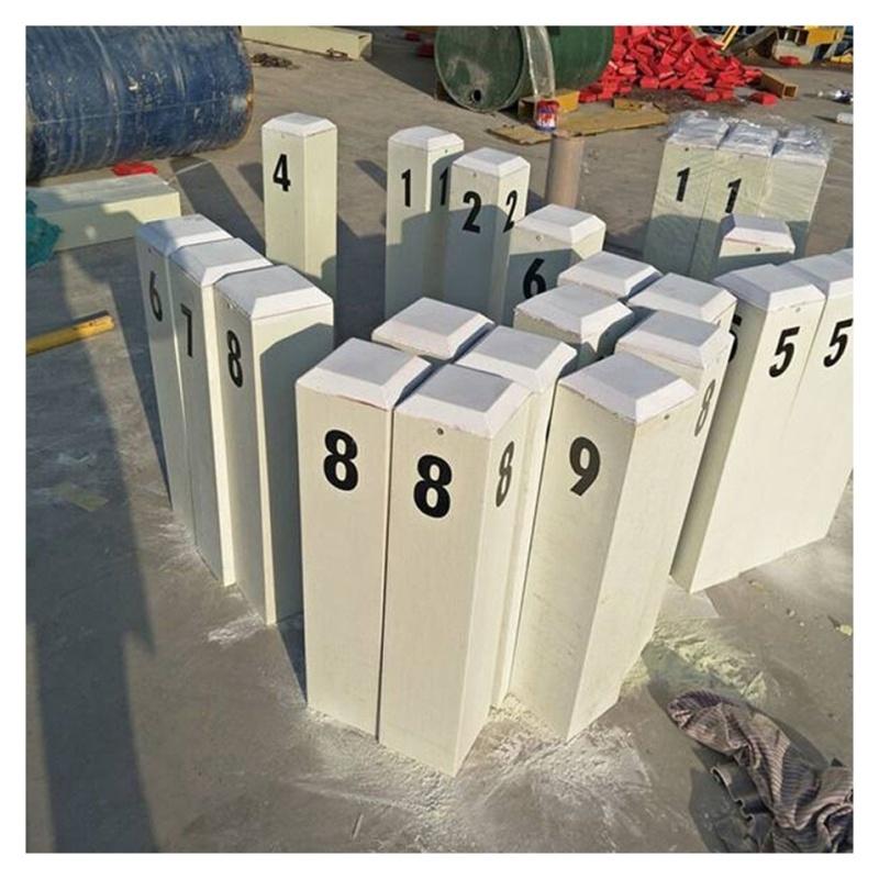标志桩制造玻璃钢夜光出口警示桩