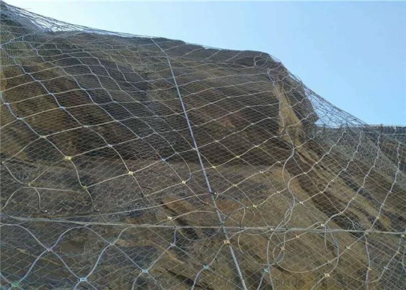 主动边坡防护网山体滑坡防护网道路边坡防护网厂家现货