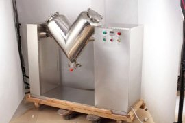 不锈钢大型物料混合机v型混合机混合机厂家直销