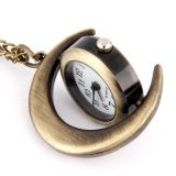 淘寶爆款復古月亮掛錶毛衣鏈掛錶廠家直銷時尚吊飾 Y-1300