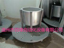 间歇式自动喷砂机 电饭锅内胆喷砂机 转盘自动喷砂机