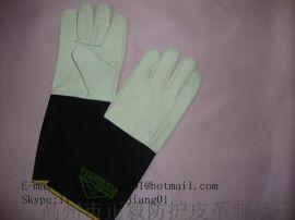 乳胶电焊工作安全防护手套