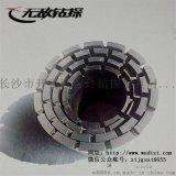 金刚石钻头薄壁跟管钻头无敌钻探金刚石钻头厂家直销