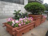 供應南京塑木花箱、木塑花盆、道路隔離花壇