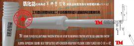 氧化铝等静压结构陶瓷柱塞耐高温耐腐蚀抛光耐磨螺杆棒φ10×62