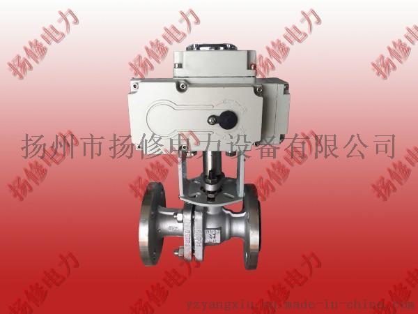 供應揚州揚修YX-20-1精小型不鏽鋼系列電動球閥 電動執行機構