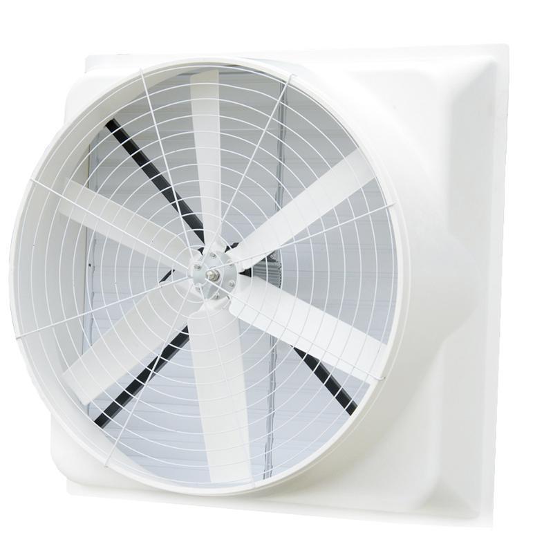 厦门负压风机FRP玻璃钢轴流风机工业风扇
