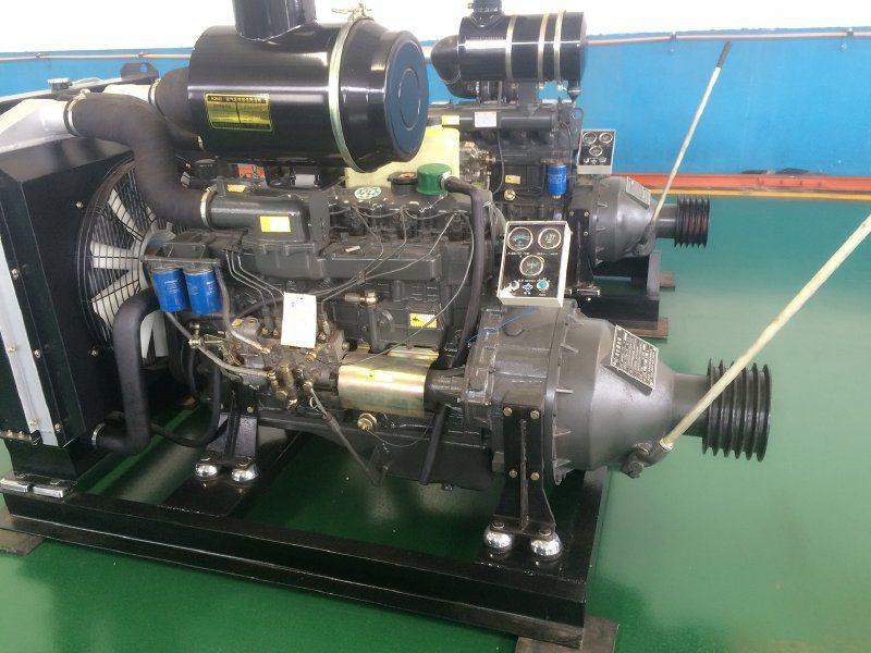 山东潍柴钻井钻机配套用柴油机六缸6105/6113可配离合器皮带轮专业生产厂家